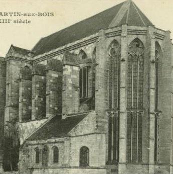 l'abbatiale et la chapelle-sacristie