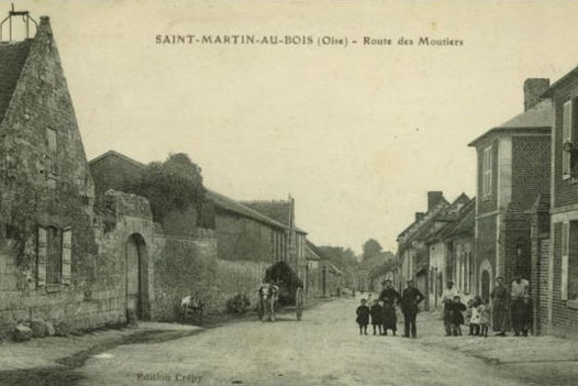 carte postale ancienne Saint-Martin-aux-Bois