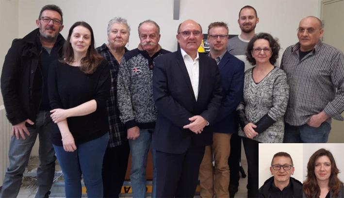 les élus de la commune de Saint-Martin-aux-Bois