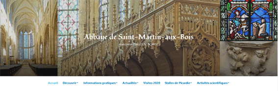 site de l'association Stalles de Picardie