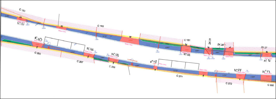 plan des trottoirs - n°7